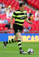 Celtic FC vs Al Ahly Wembley Cup 24/07/09<br /> Photo Nicky Hayes/Fotosports International<br /> Celtic's Gary Caldwell in action.