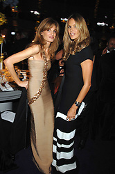 Left to right, JEMIMA KHAN and ELLE MACPHERSON at the Ark 2007 charity gala at Marlborough House, Pall Mall, London SW1 on 11th May 2007.<br /><br />NON EXCLUSIVE - WORLD RIGHTS