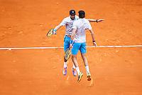 Mike BRYAN / Bob BRYAN - 19.04.2015 - Tournoi de Monte Carlo 2015 - Masters 1000 <br />Photo : Serge Haouzi / Icon Sport