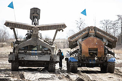 March 22, 2019 - Naval stages of the competition ''Safe route'' and ''Engineering formula'' on the ground in Kaliningrad region 2019  MOD Russia via globallookpress.com (Credit Image: © Russian Look via ZUMA Wire)