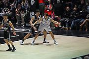 Stefano Mancinelli<br /> Segafredo Virtus Bologna - Kontatto Fortitudo Bologna<br /> Lega Nazionale Pallacanestro 2016/2017<br /> Unipol Arena 06/01/2017<br /> Foto Ciamillo-Castoria
