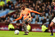 Reading striker Sone Aluko (14) on the ball during the EFL Sky Bet Championship match between Aston Villa and Reading at Villa Park, Birmingham, England on 3 April 2018. Picture by Dennis Goodwin.