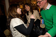 ALEX SHULMAN; SAMANTHA CAMERON; GILES DEACON, Kate Grand hosts a Love Tea and Treasure hunt at Flash. Royal Academy. Burlington Gardens. London. 10 december 2008 *** Local Caption *** -DO NOT ARCHIVE-© ightrPhotoPhotograph by Dafydd Jones. 248 Clapham Rd. London SW9 0PZ. Tel 0207 820 0771. www.dafjones.com.<br />