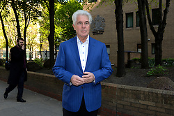 Max Clifford arrives at Southwark Court, London, UK, as jurors in his court trial consider their verdicts. <br /> Wednesday, 16th April 2014. Picture by Ben Stevens / i-Images