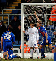 Photo: Daniel Hambury.<br />Crystal Palace v Preston North End. The FA Cup. 07/02/2006.<br />Palace's Darren Ward celebrates his goal.