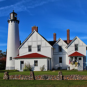 &quot;Light So Tall&quot;<br /> <br /> The lovely Point Iroquois Light Station! A scenic lighthouse located on the shores of Lake Superior in Michigan's Upper Peninsula!!<br /> <br /> Lighthouses of the Great Lakes by Rachel Cohen