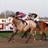 Qeethaara and Luke Morris winning the 6.55 race