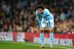 Leroy Sane of Manchester City - Mandatory by-line: Matt McNulty/JMP - 26/09/2017 - FOOTBALL - Etihad Stadium - Manchester, England - Manchester City v Shakhtar Donetsk - UEFA Champions League Group stage - Group F