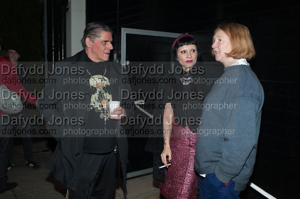 JUDY BLAME; PRINCESS JULIA; MARGOT HENDERSON, Nicola Tyson exhibition of photographs: Bowie Nights at Billy's Club London 1978. Sadie Coles HQ. 9 Balfour Mews, London W1. 25 January 2013.