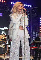 LONDON - JUNE 16: Rita Ora performs at Lovebox, Victoria Park, London, UK. June 17, 2012. (Photo by Brett Cove/piQtured)