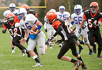 Holderness football at Vermont Academy in Saxton's River, VT October 16, 2010.