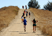 Oct, 20, 2006; Walnut, CA, USA; Runners race up Reservoir Hill over the 2.91-mile course in the 59th Mt. San Antonio College Cross Country Invitational.