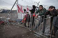 Refugees stucked in Idomeni, 08.03.16