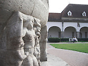 Bad Nauheim, Jugendstil Anlage Sprudelhof, Detail