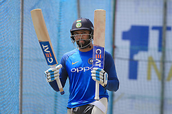 July 25, 2017 - Galle, Sri Lanka - Indian cricketer Rohit Sharma takes part in a practice session ahead of the 1st test match between Sri Lanka and India at Galle International cricket stadium, Galle, Sri Lanka on Tuesday 25 July 2017. (Credit Image: © Tharaka Basnayaka/NurPhoto via ZUMA Press)
