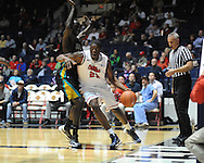 "Ole Miss's Reginald Buckner (23) vs. Coastal Carolina at the C.M. ""Tad"" Smith Coliseum in Oxford, Miss. on Tuesday, November 13, 2012. (AP Photo/Oxford Eagle, Bruce Newman)"