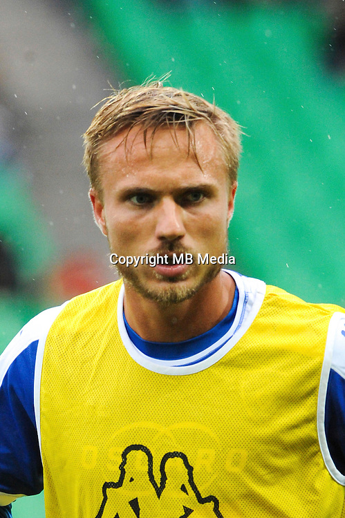 Pierre BENGTSSON of Bastia during the Ligue 1 match between AS Saint Etienne and Bastia at Stade Geoffroy-Guichard on September 18, 2016 in Saint-Etienne, France. (Photo by Jean Paul Thomas/Icon Sport)