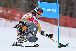 van IMPELEN Linda LW11 NED at 2018 World Para Alpine Skiing Cup, Kranjska Gora, Slovenia