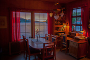 Vacation house on a fjord near Alversund, Norway, 35 minutes by car from Bergen.