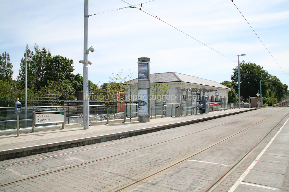 The Luas tram station Dundrum in Dublin Ireland