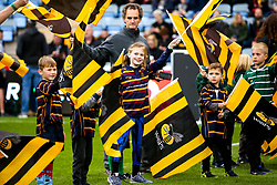 Wasps flag wavers - Mandatory by-line: Robbie Stephenson/JMP - 20/10/2019 - RUGBY - Ricoh Arena - Coventry, England - Wasps v London Irish - Gallagher Premiership Rugby