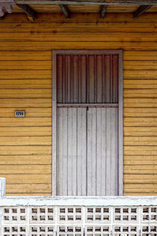 Door in Santa Cruz del Norte, Mayabeque, Cuba.