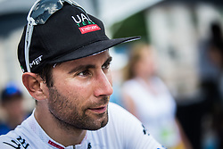Diego Ulissi (ITA) of UAE Team Emirates after 3rd Stage of 26th Tour of Slovenia 2019 cycling race between Zalec and Idrija (169,8 km), on June 21, 2019 in Slovenia. Photo by Peter Podobnik / Sportida