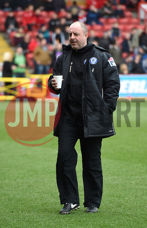 Rochdale Manager, Keith Hill ahead of the Sky Bet League One match between Bristol City and Rochdale at Ashton Gate on 28 February 2015 in Bristol, England - Photo mandatory by-line: Paul Knight/JMP - Mobile: 07966 386802 - 28/02/2015 - SPORT - Football - Bristol - Ashton Gate Stadium - Bristol City v Rochdale - Sky Bet League One