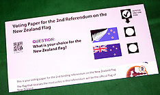 Auckland-Flag Referendum Voting Papers in mail