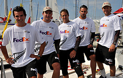 Phil Robertson and his new sponsor FedEx Express. Photo: Chris Davies/WMRT