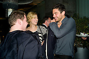 JAMES CORDEN, ROSAMUND PIKE AND DOMINIC COOPER, ESQUIRE Editor Jeremy Langmead hosts a Salon/ dinner in honour of Casey Affleck. SUKA at Sanderson Hotel, 15 Berners Street, London. 28 May 2008 *** Local Caption *** -DO NOT ARCHIVE-© Copyright Photograph by Dafydd Jones. 248 Clapham Rd. London SW9 0PZ. Tel 0207 820 0771. www.dafjones.com.