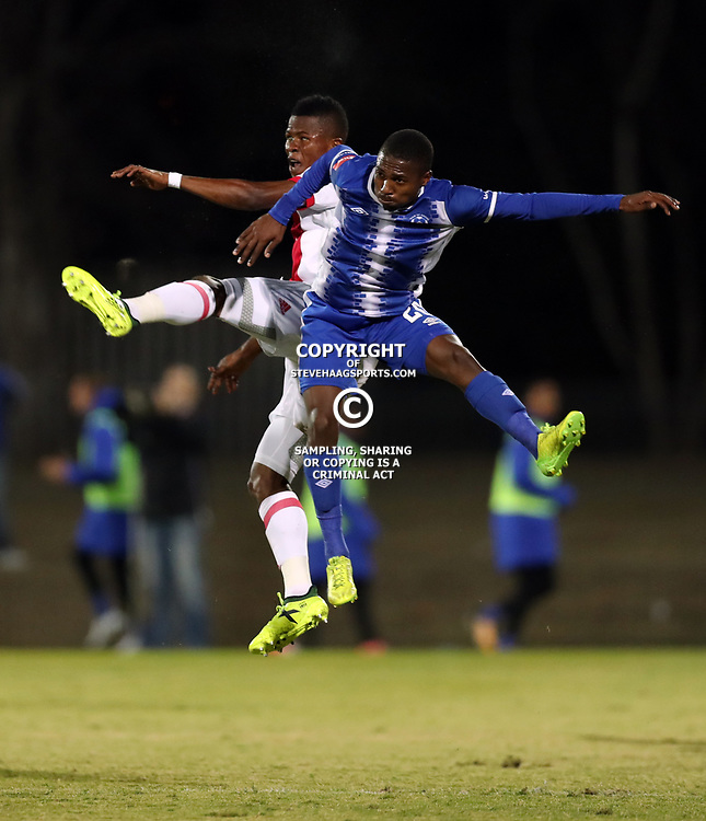 DURBAN, SOUTH AFRICA - AUGUST 23:  during the Absa Premiership match between Maritzburg United and Ajax Cape Town at Harry Gwala Stadium on August 23, 2017 in Durban, South Africa. (Photo by Steve Haag/Gallo Images)