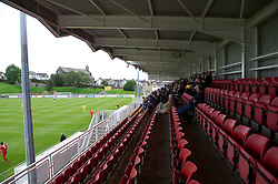 LLANELLI, WALES - Saturday, September 15, 2012: Supporters look on as Llanelli take on Newtown during the Welsh Premier League match at Stebonheath Park. (Pic by David Rawcliffe/Propaganda)