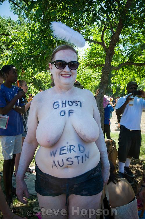 Eeyore's Birthday Party, Austin, Texas, April 25, 2015.