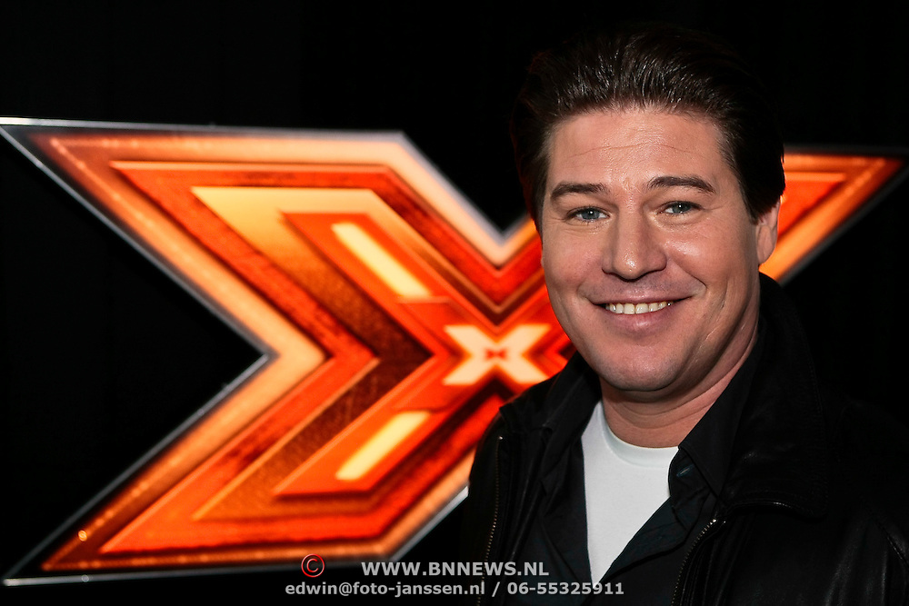 NLD/Amsterdam/20100202 - Perspresentatie X-Factor 2010, Martijn Krabbe