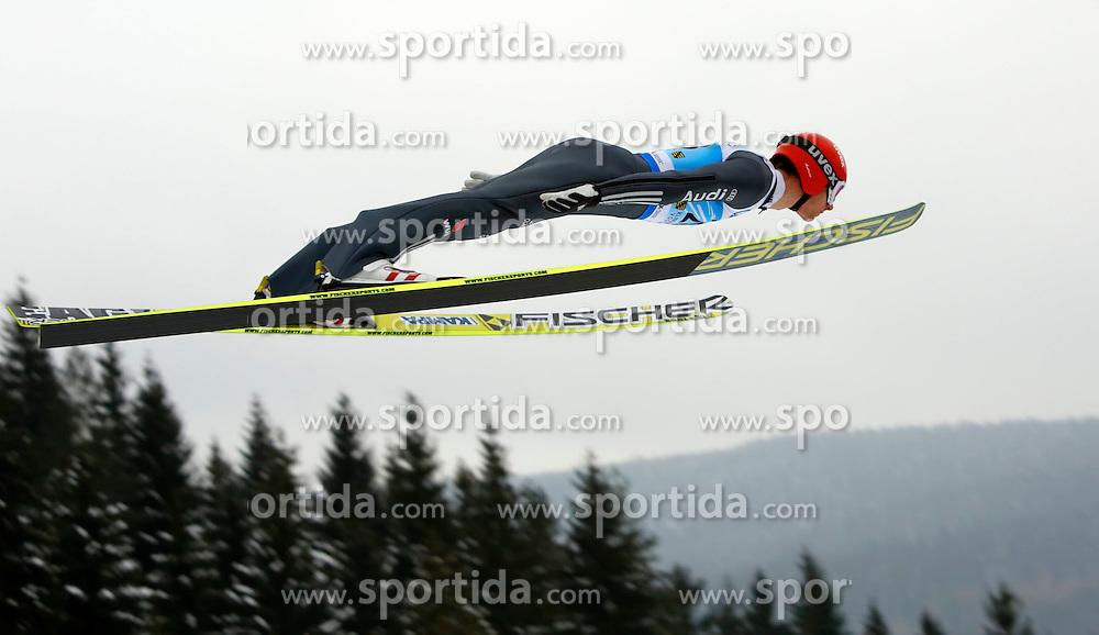 13.02.2013, Vogtland Arena, Kingenthal, GER, FIS Ski Sprung Weltcup, im Bild Andreas Wank, Deutschland // during the FIS Skijumping Worldcup at the Vogtland Arena, Kingenthal, Germany on 2013/02/13. EXPA Pictures © 2013, PhotoCredit: EXPA/ Eibner/ Ingo Jensen..***** ATTENTION - OUT OF GER *****