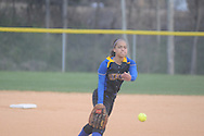 Oxford High's Ciara Steward pitches vs. Lafayette High in softball in Oxford, Miss. on Tuesday, March 6, 2012.