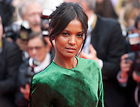 Liya Kebede at the gala screening for the film The Unknown Girl (La Fille Inconnue) at the 69th Cannes Film Festival, Wednesday 18th May 2016, Cannes, France. Photography: Doreen Kennedy