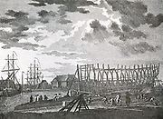 Shipbuilding.  The timber and its use. Shipbuilding in 17th century Holland