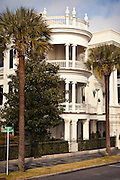 Historic grand home along the Battery in Charleston, SC