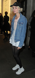 Nina Nesbitt attends Beyoncé Knowles x Topshop - collection launch party at Topshop, Oxford Circus in London, UK. 13/04/2016<br />