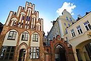 historische Gebäude, Altstadt, Hansestadt Rostock, Mecklenburg-Vorpommern, Deutschland.|.historical building,  old town, Rostock, Mecklenburg-Vorpommern Germany