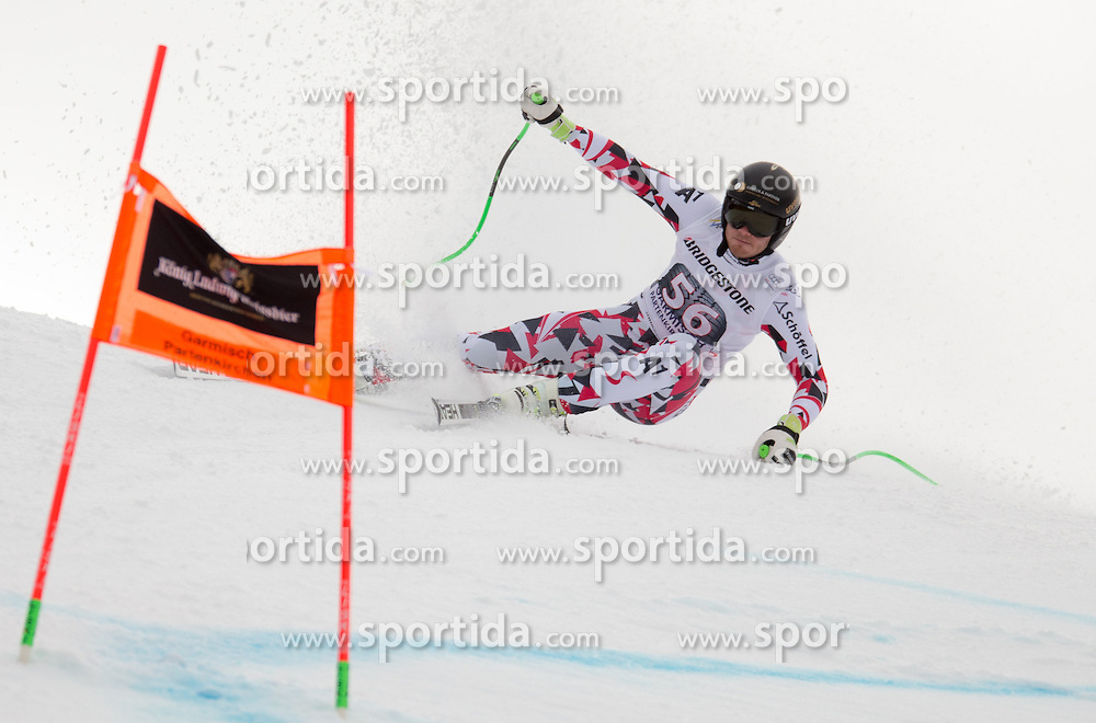 28.01.2016, Kandahar, Garmisch Partenkirchen, GER, FIS Weltcup Ski Alpin, Abfahrt, Herren, 1. Training, im Bild Christian Walder (AUT) // Christian Walder of Austria competes in his 1st training run for the men's Downhill of Garmisch FIS Ski Alpine World Cup at the Kandahar course in Garmisch Partenkirchen, Germany on 2016/01/28. EXPA Pictures © 2016, PhotoCredit: EXPA/ Johann Groder