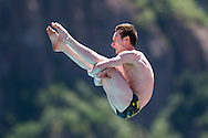 AUFFRET Benjamin FRA<br /> Bolzano, Italy <br /> 22nd FINA Diving Grand Prix 2016 Trofeo Unipol<br /> Diving<br /> Men's 10m platform preliminaries <br /> Day 02 16-07-2016<br /> Photo Giorgio Perottino/Deepbluemedia/Insidefoto