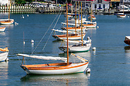 Sailing Boats, Shelter Island Yacht Club, Dering Harbor, Shelter Island, NY