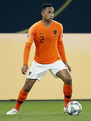 Kenny Tete of Holland during the UEFA Nations League A group 1 qualifying match between Germany and The Netherlands at the Veltins Arena on November 19, 2018 in Gelsenkirchen, Germany