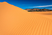 Coral Pink Sand Dunes State Park, Kane County, Utah USA
