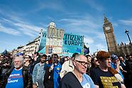 BRITAIN - Unite for Europe march, London