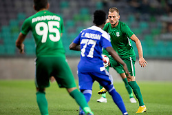 Marko Putincanin of NK Olimpija Ljubljana during 1st Leg football match between NK Olimpija Ljubljana and HJK Helsinki in 3rd Qualifying Round of UEFA Europa League 2018/19, on August 9, 2018 in SRC Stozice, Ljubljana, Slovenia. Photo by Urban Urbanc / Sportida