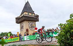 02.07.2017, Graz, AUT, Ö-Tour, Österreich Radrundfahrt 2017, 1. Etappe, Prolog, im Bild Jodok Salzmann (AUT, WSA Greenlife) // during Stage 1, Prolog of 2017 Tour of Austria. Graz, Austria on 2017/07/02. EXPA Pictures © 2017, PhotoCredit: EXPA/ JFK